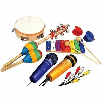 Emerson Party Instruments and Plug 'N' Sing Karaoke System