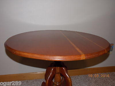 Antique Eastlake Victorian Round Table