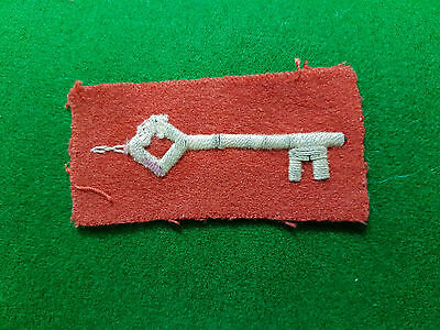 Ww2 Gibraltar Regiment Formation Patch Badge