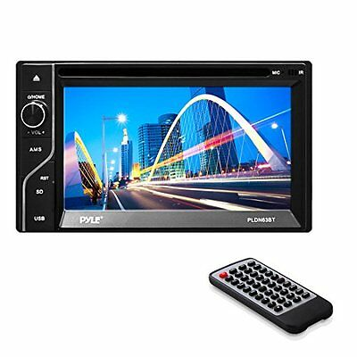 Pyle PLDN63BT Double DIN Bluetooth 6.5-Inch Touch-Screen CD/