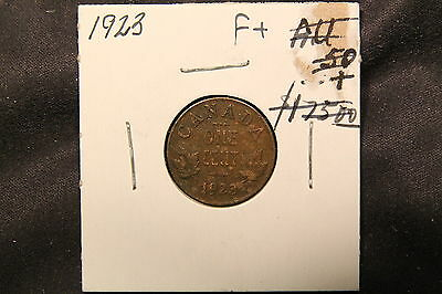 1923 Canada Small 1 Cent. From old estate collection. Key Date penny.