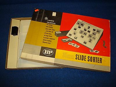 35mm Slide Sorting Light Box Hudson Photographic Industries Editing Viewing HP