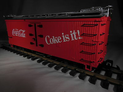 4072 LGB Coca-Cola Early Version Wood Sided
