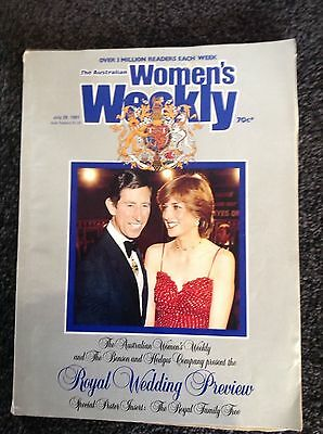 The Australian Women's Weekly Royal Wedding Preview edition, July 29, 1981
