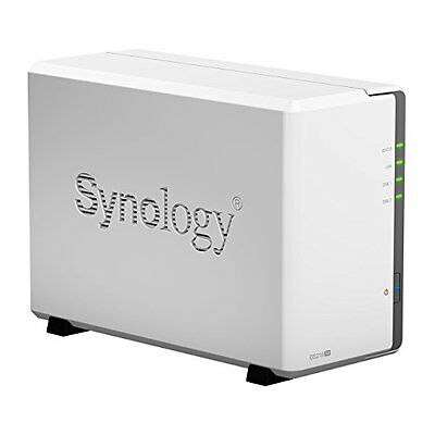 Synology Disk Station 2-Bay Diskless Network Attached Storag