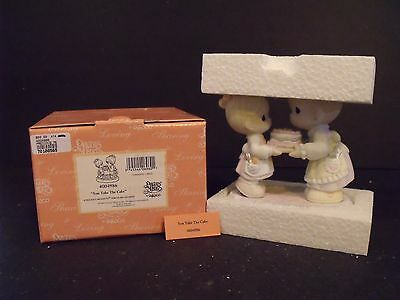 """Precious Moments """"you Take The Cake"""" - #4004986 - New In Box"""