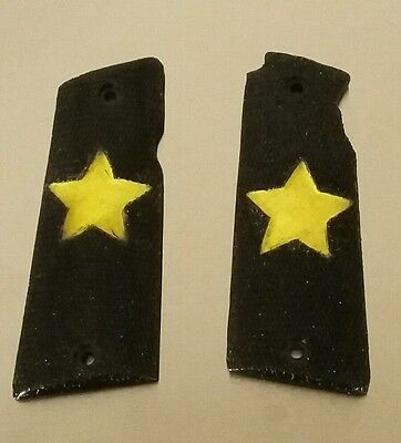 STAR SUPER B grip - pistol grips - Black and Stars