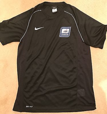 Nike PGMOL Football League Referee Training Top S/Sleeve Shirt - Medium (New)