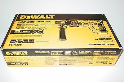 "DEWALT DCH133B 20V Max XR Brushless 1"" D-Handle Rotary Hammer Drill (Bare-Tool )"