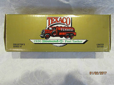 ERTL 1990 Texaco 1930 Diamond Fuel Tanker #7 in series NIB