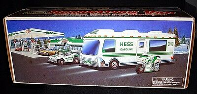 HESS Recreational Van with Dune Buggy and Motorcycle - 1998