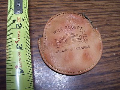 Coin Purse, leather, Will Rogers Turnpike