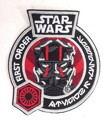 "Star Wars First Order TIE Fighter Pilot 4"" Embroidered Patch (SWPA-FC-41)"