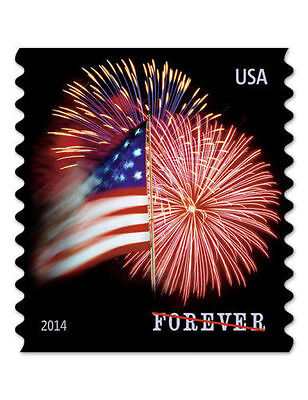 USPS Forever Stamps Star Spangled Banner Roll of 100 X 10; Total 1000 stamps