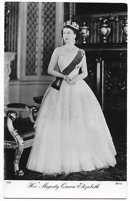 RPPC H.M. the Queen Elizabeth II / Tuck's - Royalty Real Photo Postcard