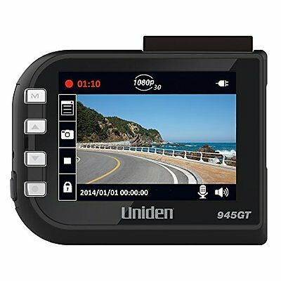 Uniden DC4GT Full HD Dash Camera with GPS and Red Light Came