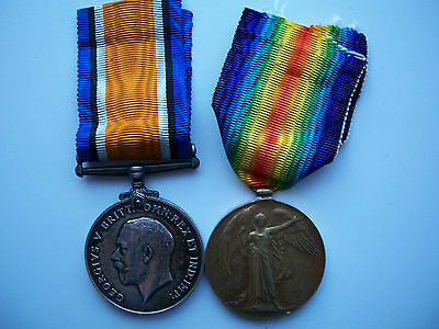 Great Britain / British WWI Service & Victory Medal Duo Named to Royal Artillery