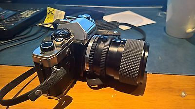 Olympus OM-10 with Customized Lens Kit 35mm Film Camera