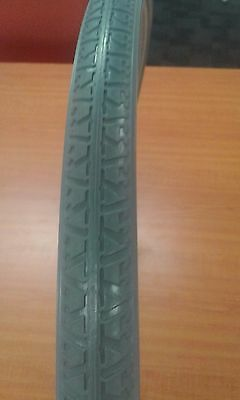 NEW 2 X 24 x 1 3/8 Solid Wheelchair Tyres