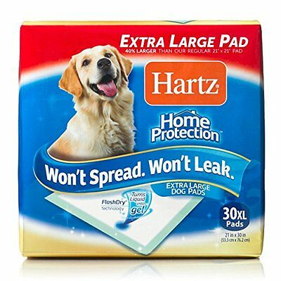 Hartz Antibacterial Training Pads for Large Dogs, 30 Pads
