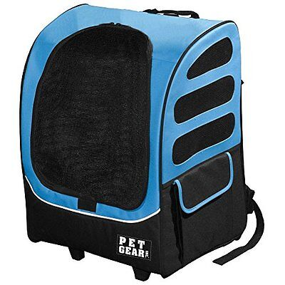 Pet Gear I-Go2 Plus Traveler Rolling Backpack Carrier for Cats and Dogs up