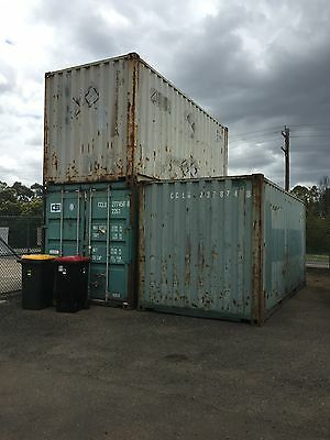 Wind & Water Tight 20ft Shipping Containers Ex Melbourne Price includes GST