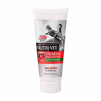 Nutri Vet 99851-9 Hip and Joint Paw-Gel for Cats - 3.0 oz