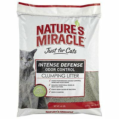 Nature's Miracle 40-Pound Intense Defense Clumping Litter