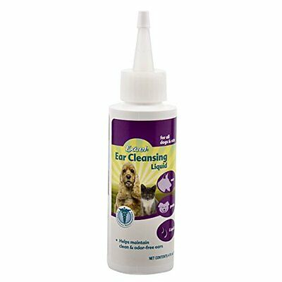 Excel 8 in 1 4 Ounce Bottle Excel Ear Cleansing Liquid for Dogs and Cats