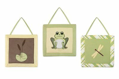 Leap Frog Wall Hanging Accessories by Sweet Jojo Designs