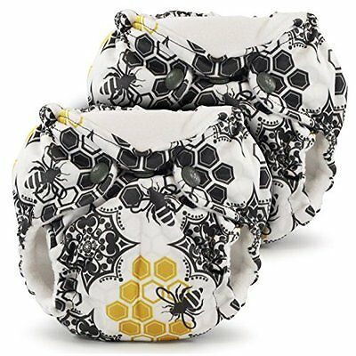 Lil Joey 2 Pack All In One Cloth Diaper, Unity