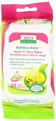Bamboo Baby Hand & Face Wipes (Set of 30)