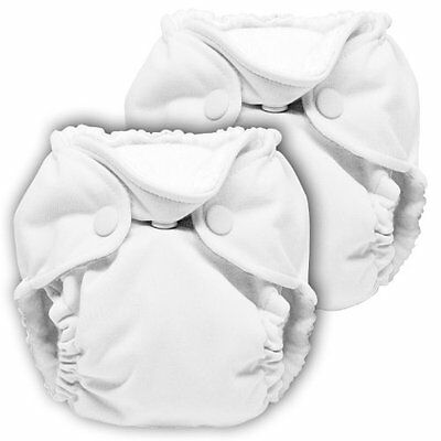 Lil Joey 2 Pack All-In-One Cloth Diaper, White