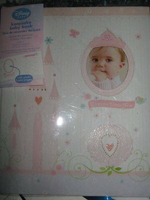 Disney Princess Keepsake Baby's First Year Memory Book for B