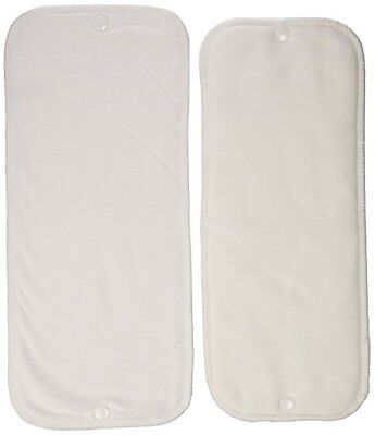 Thirsties Stay-Dry Duo Insert, White, Size Two (18-40 lbs)