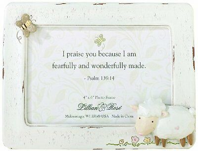 "Lillian Rose Picture Frame, Little Lamb, 4"" x 6"""