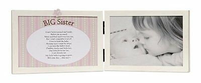 The Grandparent Gift Co. Sweet Something Frame, Big Sister