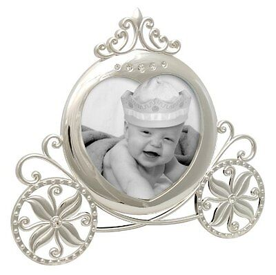 Stephan Baby Royalty Collection Keepsake Silver Plated Frame, Fairy Tale Ca