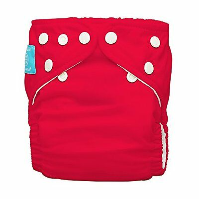 Charlie Banana 2-in-1 One Size Cloth Diaper (Red)