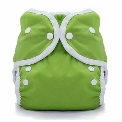 Thirsties Duo Wrap Snap, Meadow, Size One (6-18 lbs)