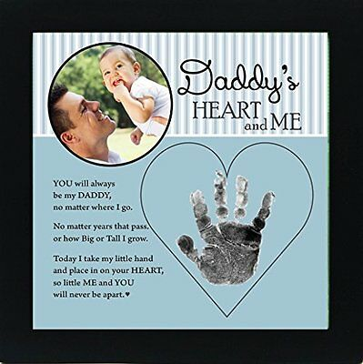 Baby Child Keepsake Handprint Frame with Poetry - Mommy, Daddy, Grandma or