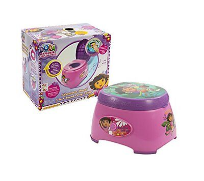 Ginsey Dora the Explorer 3-in-1 Potty Trainer with Sound