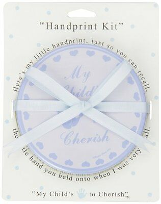 Child to Cherish Baby Handprint Pack in Blue