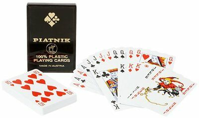 Platnik 100% Plastic Single Deck Playing Cards