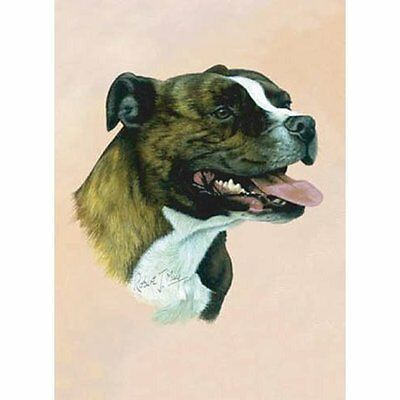Staffordshire Bull Terrier Playing Cards - Art by Robert May