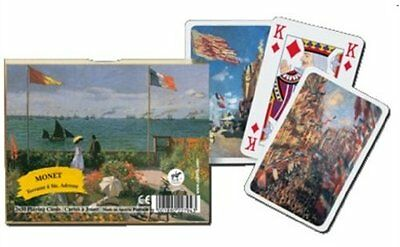 Terrace By Monet - Double Deck Playing Cards