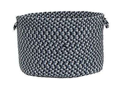 Colonial Mills Boston Common Utility Basket, 14 by 10-Inch, Winter Blues