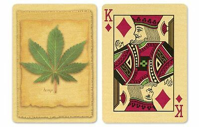 Bicycle Hemp Playing Cards: 12 Decks of Bicycle Poker Size Hemp Back Playin