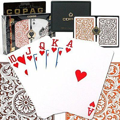 Copag 1546 - Orange/brown - Regular Index - Poker