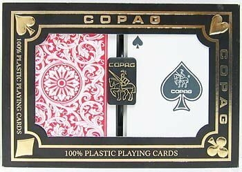 Copag 1546 Playing Cards in Red and Blue